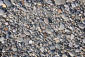 Beach Pebbles Texture Stock Photography - Image: 18991032