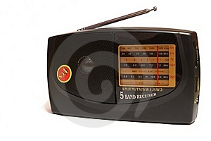 Radio set Stock Photography