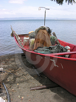 Fish Boat Free Stock Photography