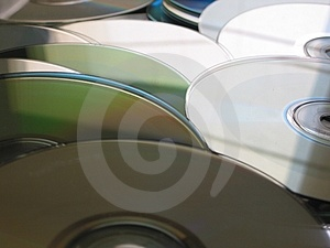 CD knoeit 3 Stock Foto's