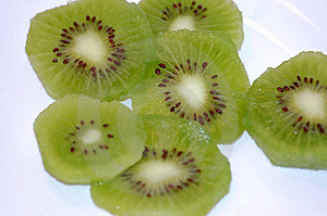 Kiwi Slices Free Stock Photos