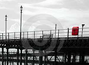 Historic English Pier Royalty Free Stock Photo