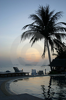 Stock Photo: Ko Pangnan Pool Resort Picture. Image: 192210