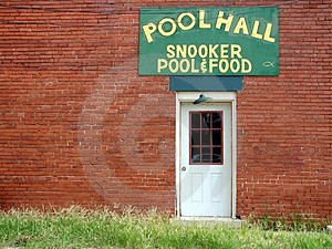 Pool Hall Free Stock Image