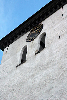 Marstrand church tower Royalty Free Stock Photo