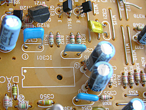 Electronic Circuit Board Free Stock Images