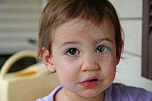 Baby Girl Adorable Royalty Free Stock Photos