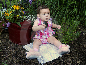 Garden Baby Free Stock Photos