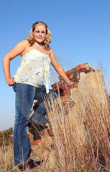 Woman Posing Stock Photos