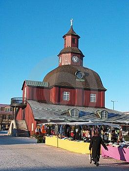 Lidköping Square Stock Images