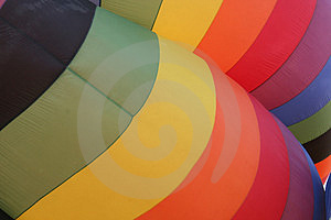 Hot Air Balloon Abstract Stock Image