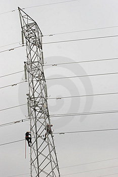 Power Pylon Stock Photos