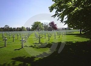 Graveyard Aubel Belgium Stock Photos