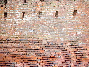Old Brick Stock Photo