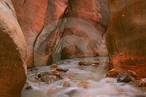 River Out Of Rock Free Stock Photo