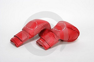 Box Gloves Free Stock Image