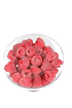 Raspberries Free Stock Photography