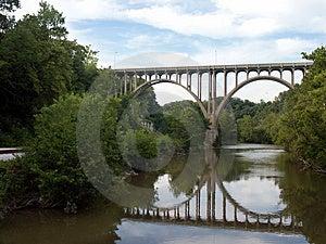 Łukowaty most Zdjęcie Royalty Free