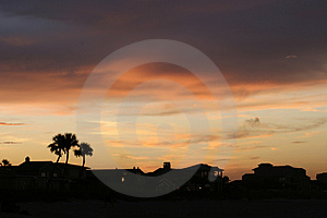 Florida gryning Royaltyfri Bild