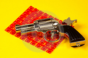 Cap Gun Royalty Free Stock Photos