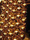 Gold Balls Royalty Free Stock Images