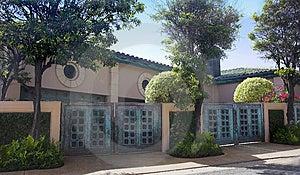 Luxury House - California Royalty Free Stock Images - Image: 1901029