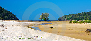 Low  Tide Royalty Free Stock Photo - Image: 1904015