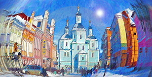 St. Voskresensky Cathedral Royalty Free Stock Images - Image: 1906059