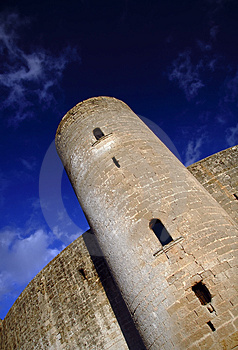 Bellver Castle Royalty Free Stock Photo - Image: 1906495