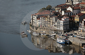 View Of Oporto Ribeira Royalty Free Stock Photos - Image: 1908838
