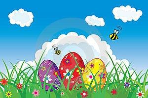 Easter Postcard Stock Photos - Image: 19004943