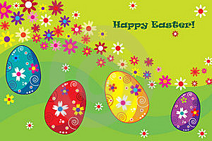 Easter Card Stock Image - Image: 19004951