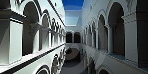 Italian Arcade Stock Images - Image: 19010584