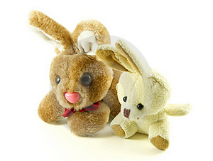 Easter Rabbits Royalty Free Stock Photos - Image: 19010708