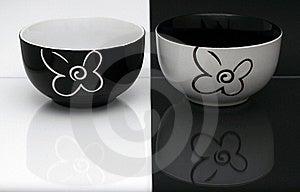 Porcelain Bowls Stock Image - Image: 19015381