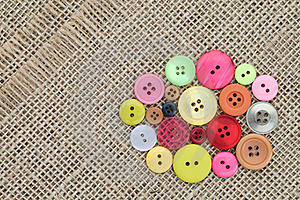 Colorful Buttons Royalty Free Stock Image - Image: 19015926