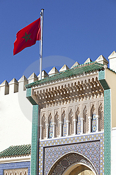 Palace In Fez In Marocco Royalty Free Stock Images - Image: 19017849