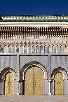 Palace In Fez In Marocco Royalty Free Stock Photo - Image: 19017965