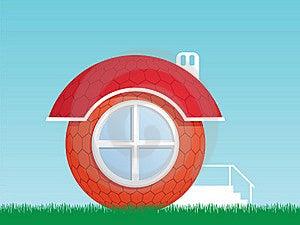 Round House Stock Image - Image: 19018321