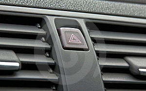 Car Push Button Warning Stock Images - Image: 19019134