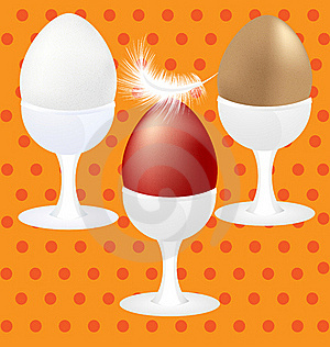 Three Eggs Stock Photography - Image: 19021522