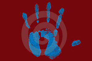 Hand Print Royalty Free Stock Images - Image: 19024389