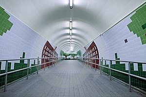 Subway Entrance Royalty Free Stock Photography - Image: 19031347