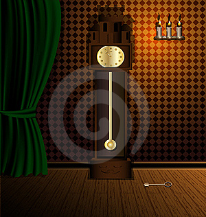 Old Clock Stock Images - Image: 19031554