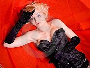 Sexy Blond Meisje Glam Stock Foto's - Afbeelding: 19031913