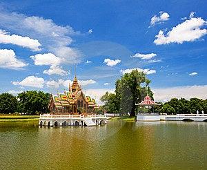 Pang-Pa-In Palace Royalty Free Stock Photo - Image: 19032135