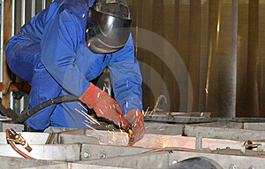 Welder Working. Stock Images - Image: 19032304