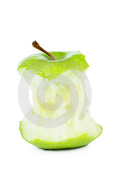 Core Of An Apple Royalty Free Stock Photo - Image: 19032575