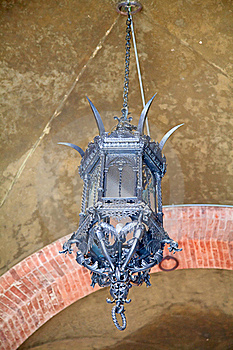 Ancient Iron Lantern Royalty Free Stock Images - Image: 19035659
