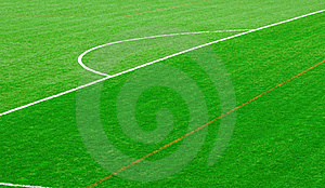 Football Field Stock Image - Image: 19035781